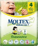 Moltex Windeln nature no.1 Größe 4 Maxi, 7-18kg,