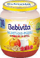 Bebivita Frühstücks-Müsli Himbeere in Apfel ab 10. Monat