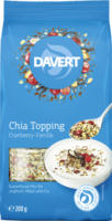 Davert Chia Topping Cranberry-Vanille