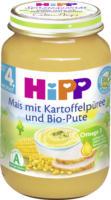 Hipp Babymenü Mais mit Kartoffel und Bio-Pute nach dem 4. Monat