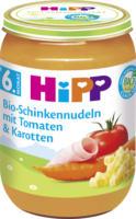 Hipp Babymenü Bio-Schinkennudeln mit Tomaten & Karotten ab 6. Monat
