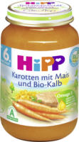 Hipp Babymenü Karotten mit Mais und Bio-Kalb ab 6. Monat
