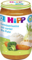 Hipp Kindermenü Gemüserisotto mit zarter Bio-Pute ab 12. Monat