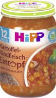Hipp Kindermenü Kartoffel-Rindfleisch-Eintopf ab 12. Monat