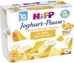 Hipp Joghurtbecher Joghurt-Pause Banane-Mango-Ananas ab 10. Monat, 4x100g