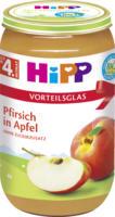 Hipp Früchte Pfirsich in Apfel nach dem 4. Monat