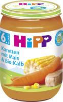 Hipp Babymenü Karotten mit Mais & Bio-Kalb ab 6. Monat