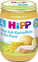 Hipp Babymenü Mais mit Kartoffelpüree & Bio-Pute nach dem 4. Monat