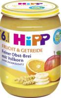 Hipp Frucht & Getreide Feiner Obst-Brei mit Vollkorn ab 6. Monat