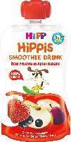 Quetschbeutel Hippis Smoothie Drink Rote Früchte in Apfel-Banane ab 1 Jahr