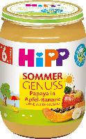 Hipp Früchte Sommer Genuss Papaya in Apfel-Banane ab 6. Monat