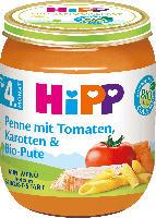 Hipp Babymenü Penne mit Tomaten, Karotten & Bio-Pute nach dem 4. Monat