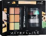 Maybelline New York Concealer Master Camouflage Palette light 1 + gratis Präzisions-Concealer Eier