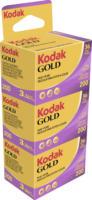 Kodak 200 Color Negativ-Film 135/36 (3 Filme à 36 Bilder)