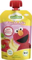 Sesamstraße Quetschbeutel Frucht-Mix Apfel Banane Himbeere ab 12. Monat