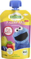 Sesamstraße Quetschbeutel Frucht-Mix Birne Apfel Pflaume & Zimt ab 12. Monat