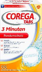 Corega Gebißreinigertabs Rapid 3 min