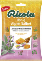 Ricola Bonbon, Honig, Alpen-Salbei