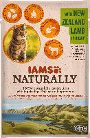 IAMS Nassfutter für Katzen, Adult, Naturally, Lamm in Sauce