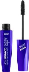 p2 cosmetics Wimperntusche high impact volumizing collagen mascara waterproof black pump 010