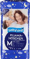 babylove Pyjamahöschen Größe M 4-7 Jahre, 17-30kg