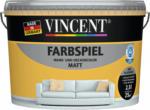 Vincent Wand- & Deckencolor Farbspiel, Papaya, matt, 2,5 L