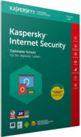 Kaspersky Internet Security 2018 Upgrade 1 Jahr 3 PCs