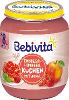 Bebivita Erdbeer-Himbeer Kuchen mit Apfel ab 8. Monat