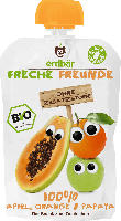 erdbär Freche Freunde Quetschbeutel 100% Apfel, Orange & Papaya ab 1 Jahr