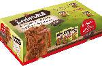 Snackbox für Hunde, 3x Adventuros Strips 90g, 3x Adventuros Nuggets 90g, 2x Adventuros Sticks 120g, 1x Spielzeug