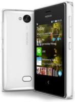 Nokia Asha 502 Dual Sim Smartphone, weiß | Gebrauchte A-Ware