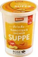 """Frische Suppe """"Karotten-Ingwer-Suppe"""""""
