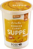 """Frische Suppe """"Kürbis-Curry-Suppe"""""""