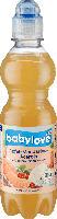 babylove Saft Apfel-Mandarine- Acerola mit stillem Mineralwasser