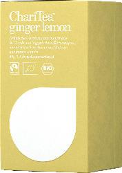 Chari Tea Kräuter-Tee, ginger lemon, Ingwer & Zitronengras (20x2g)