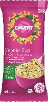 Davert Noodle Cup Brokkoli-Käse-Sauce