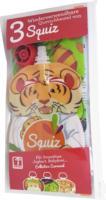 Squiz Quetschbeutel wiederverwendbar, 3er-Pack