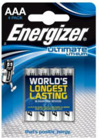 Lithium-Batterie Utimate AAA, 4 Stück