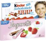 Kinderschokolade oder Yogurette jede 125-g-Packung