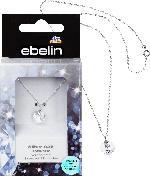 ebelin Kette 925 Silber veredelt mit Swarovski® Kristallen