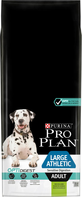 Pro Plan Dog Large Athletic Adult OPTI DIGEST Agneau 14kg