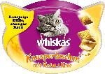 Whiskas Snack für Katzen, Knuspertaschen mit Huhn & Käse