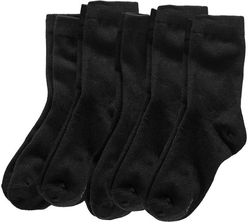 5 Paar Jungen Socken in Schwarz