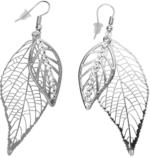 Damen Ohrhänger in Blätterform