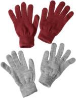 2 Paar Damen Handschuhe im Set