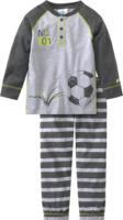Jungen Schlafanzug mit Fußball-Print