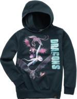DRAGONS Sweatshirt mit Kapuze