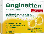 anginetten Halstabletten Honig Zitrone zuckerfrei