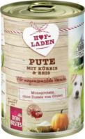 Dein Bestes Nassfutter für Hunde, Hofladen, Pute mit Kürbis & Reis für magensensible Hunde