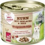 Dein Bestes Hofladen Nassfutter für Katzen Huhn mit Seelachs und Reis für magensensible Katzen